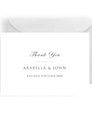 003 Modern Minimalist Thank You Card WEB