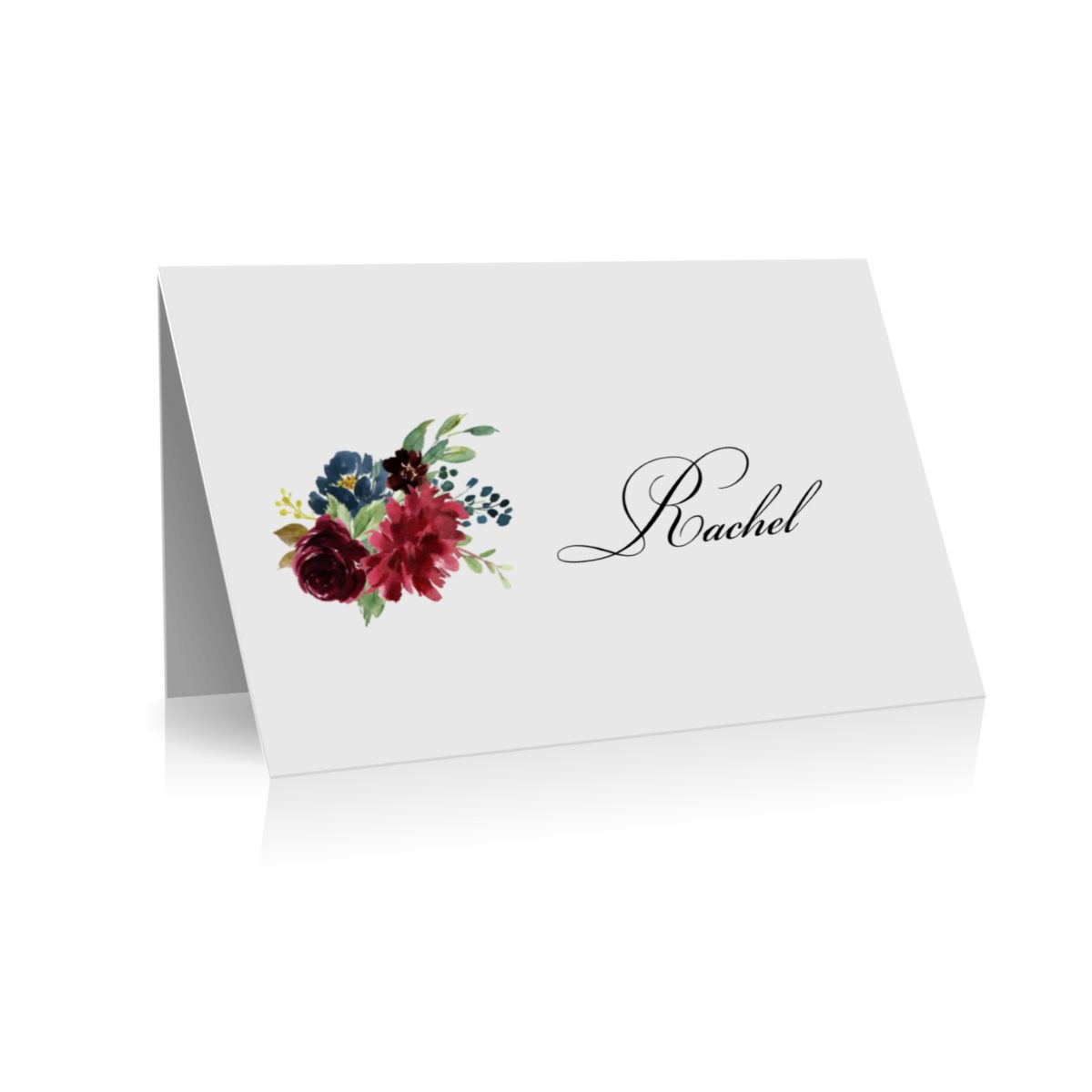 048 Bec & Nathaniel place card
