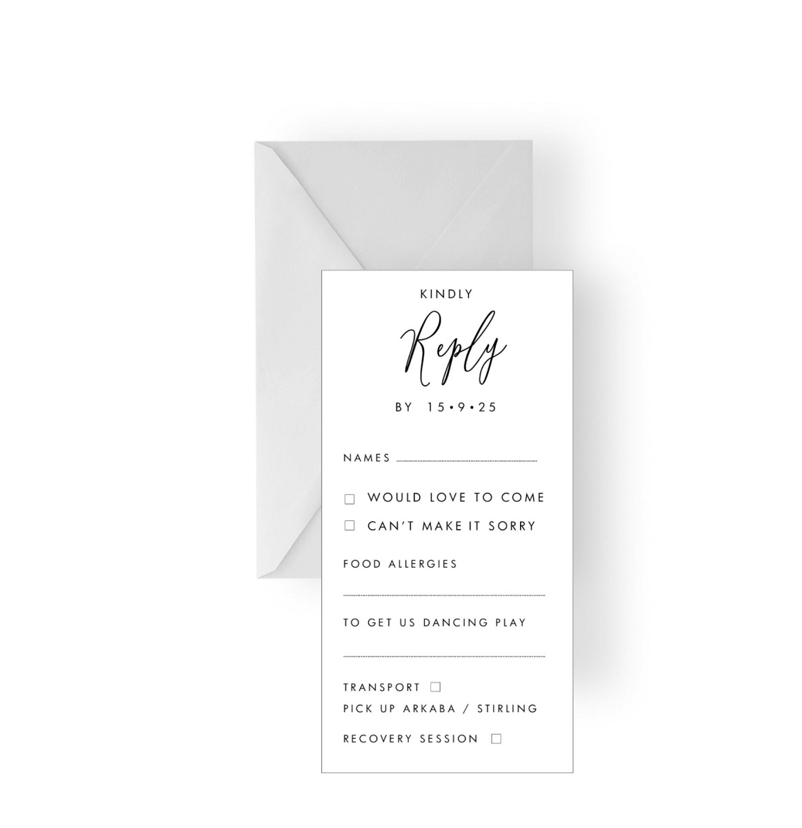 129 Simple Kindly Reply RSVP card WEB