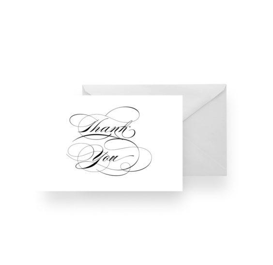 135 Eligant Thank You Card Blank WEB