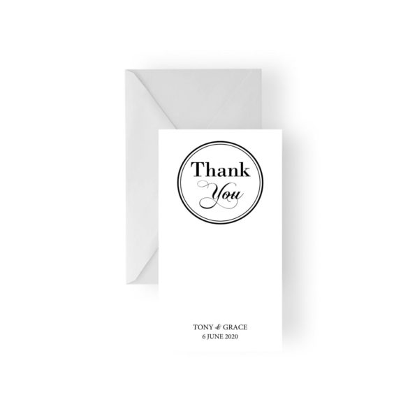137 Grace & Tony Thank You Card WEB