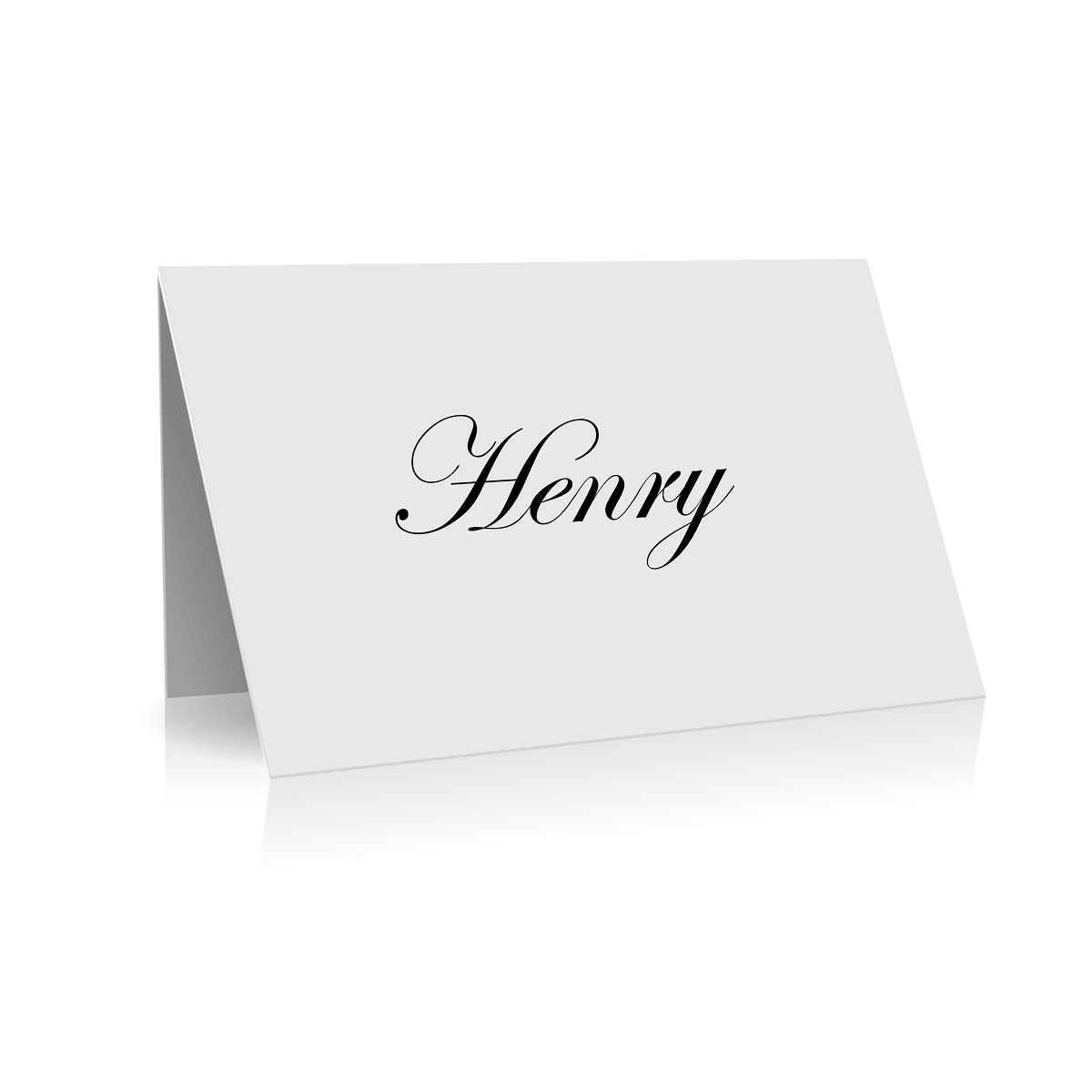 145 Traditional Script Font Place Card WEB