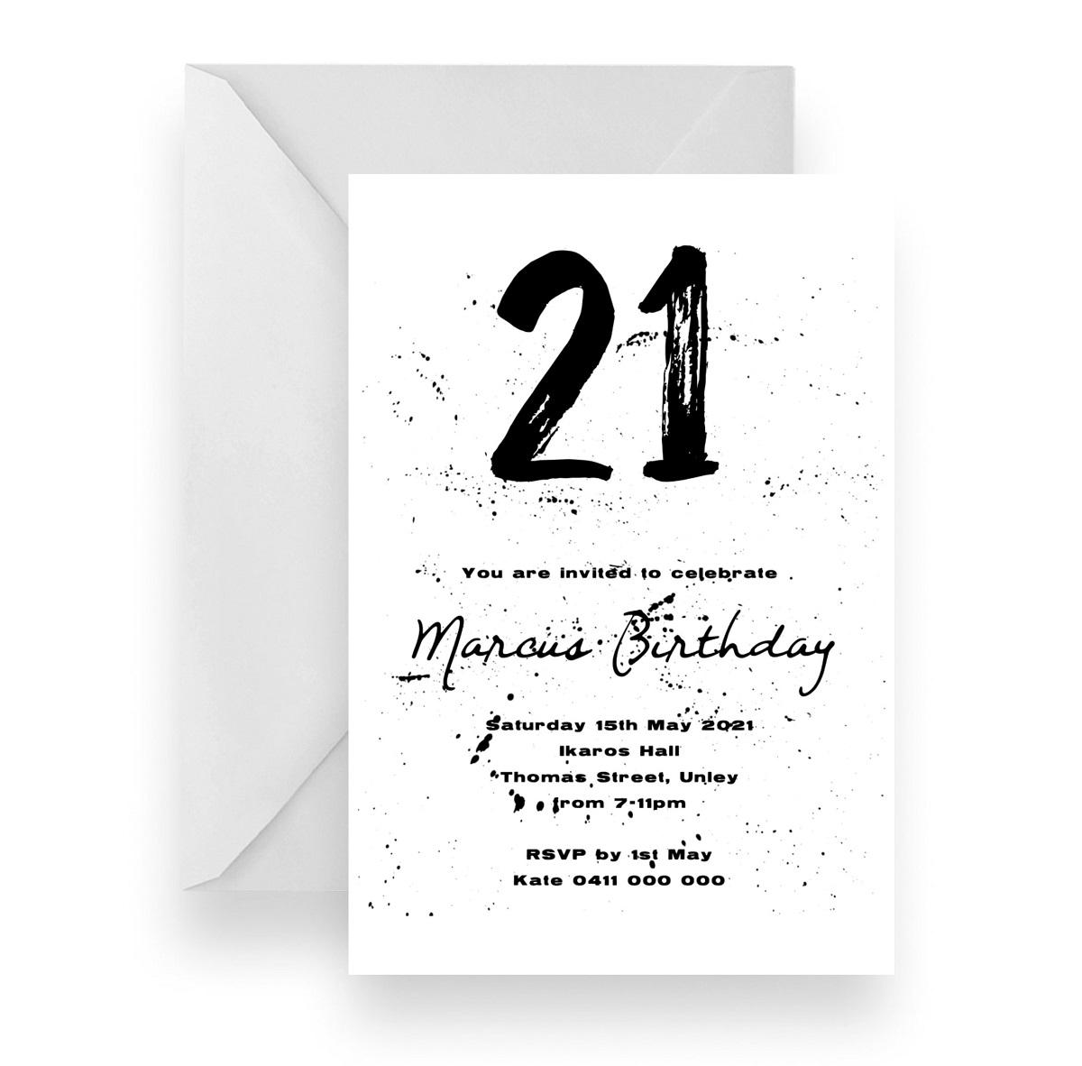 225 Paint Splat Birthday Invitaiton v2