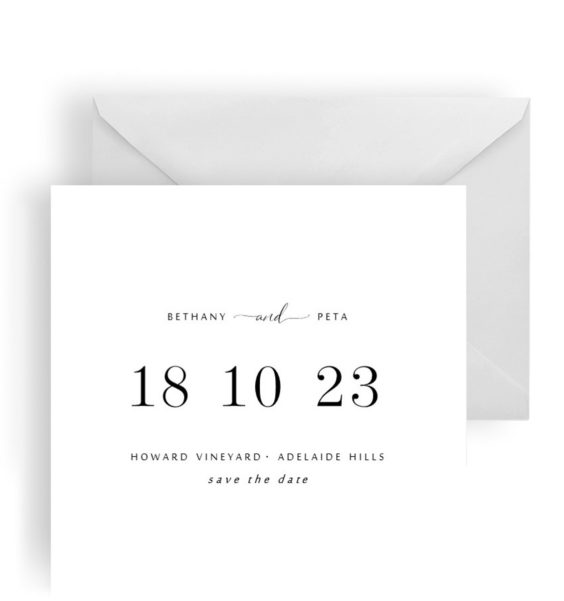 233 Square Save the Date